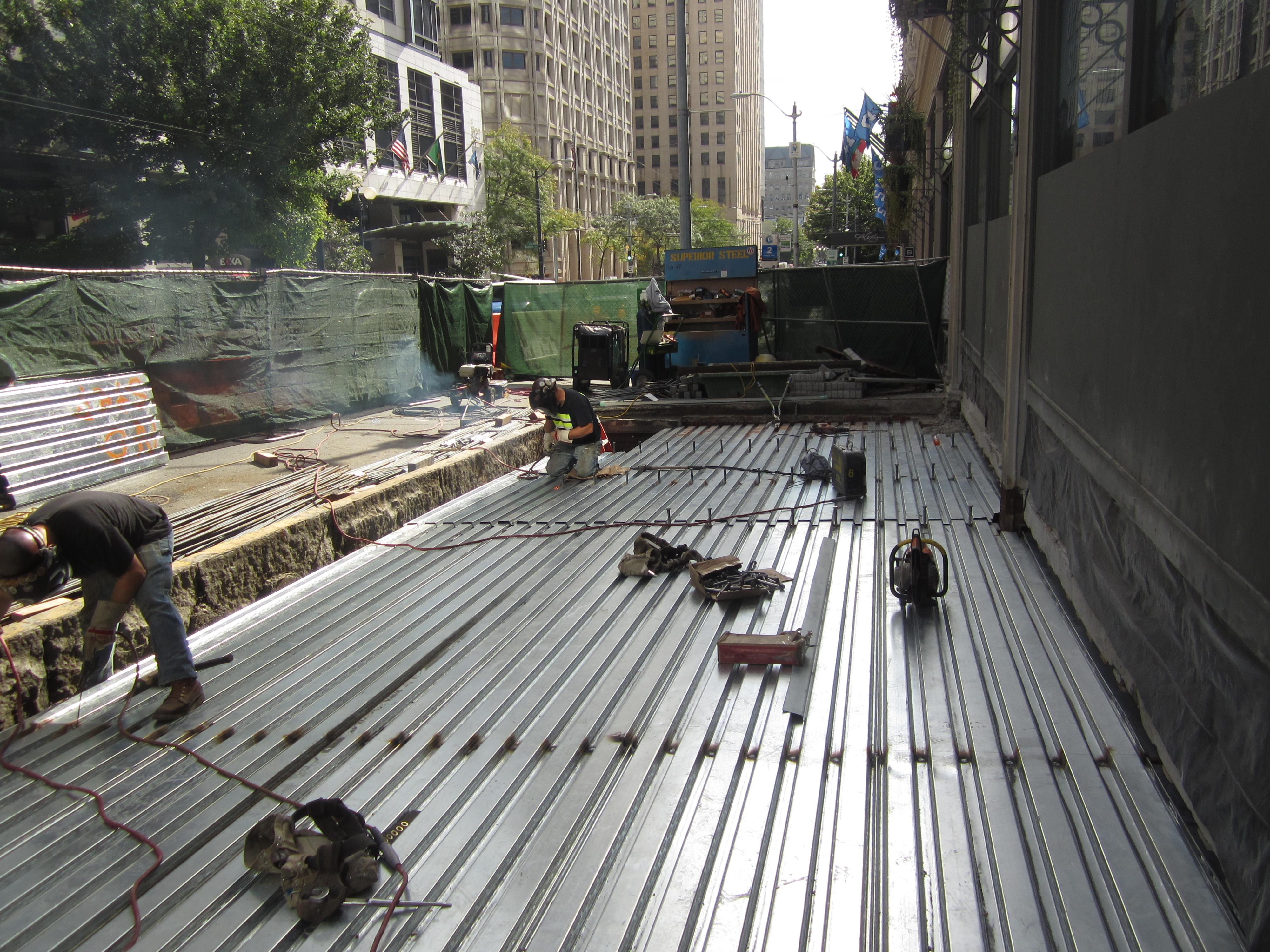 structural and civil engineering for sidewalk repair