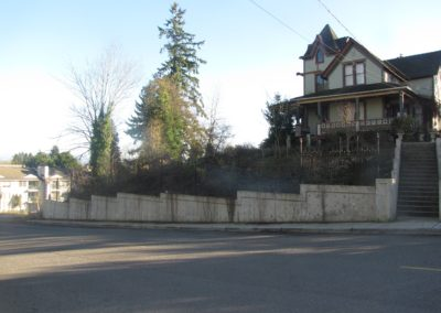 City of Snohomish Retaining Wall