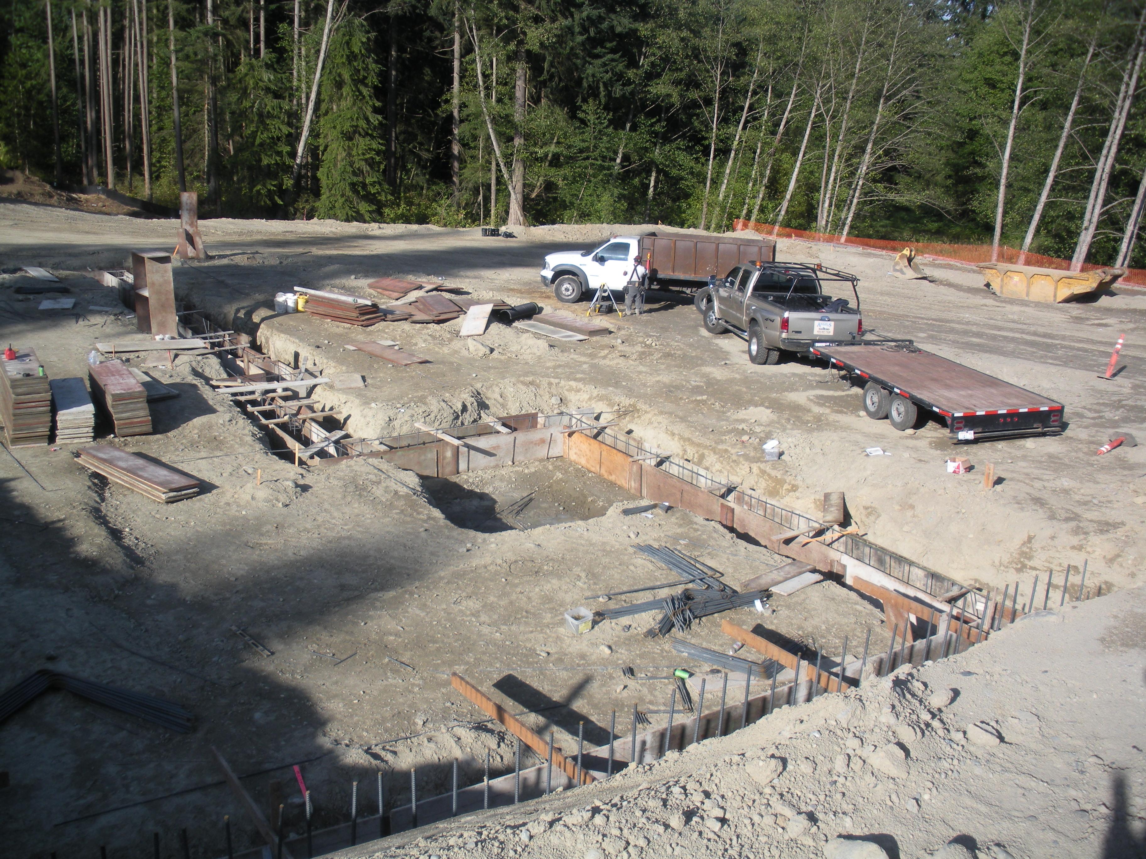 foundation of new church