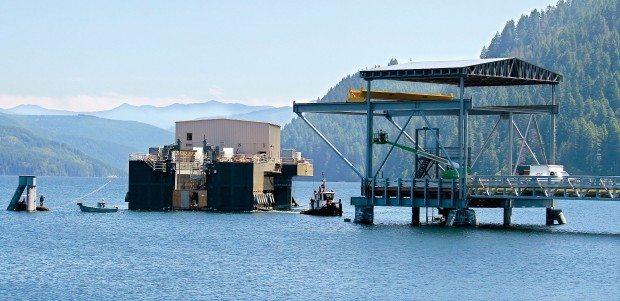 Swift Reservoir Fish Collector Platform