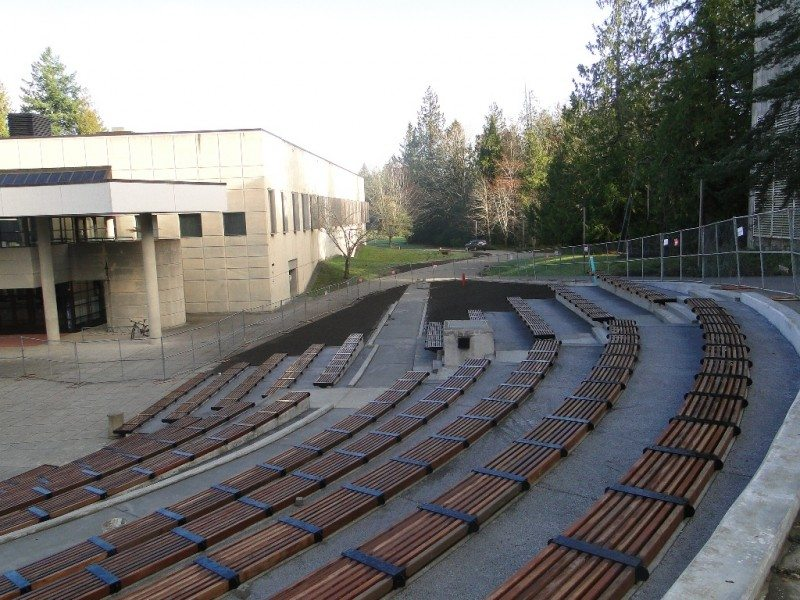 college amphitheater engineering