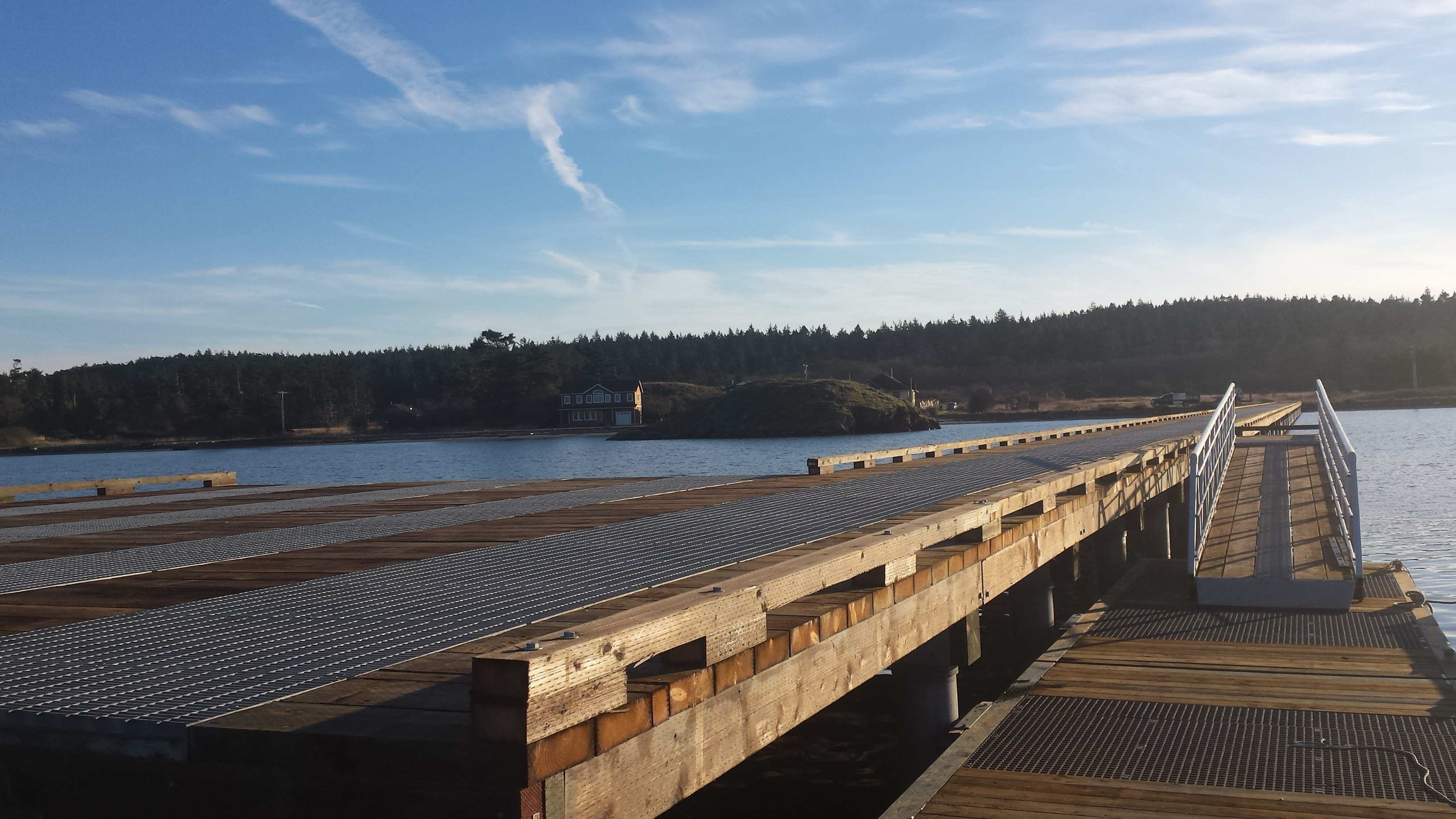 tulalip tribe pier renvoation