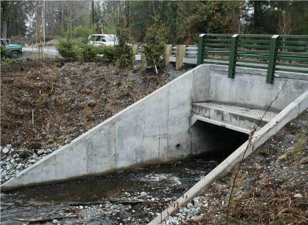 finished culvert