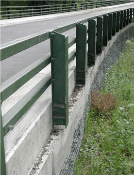 structural steel handrails