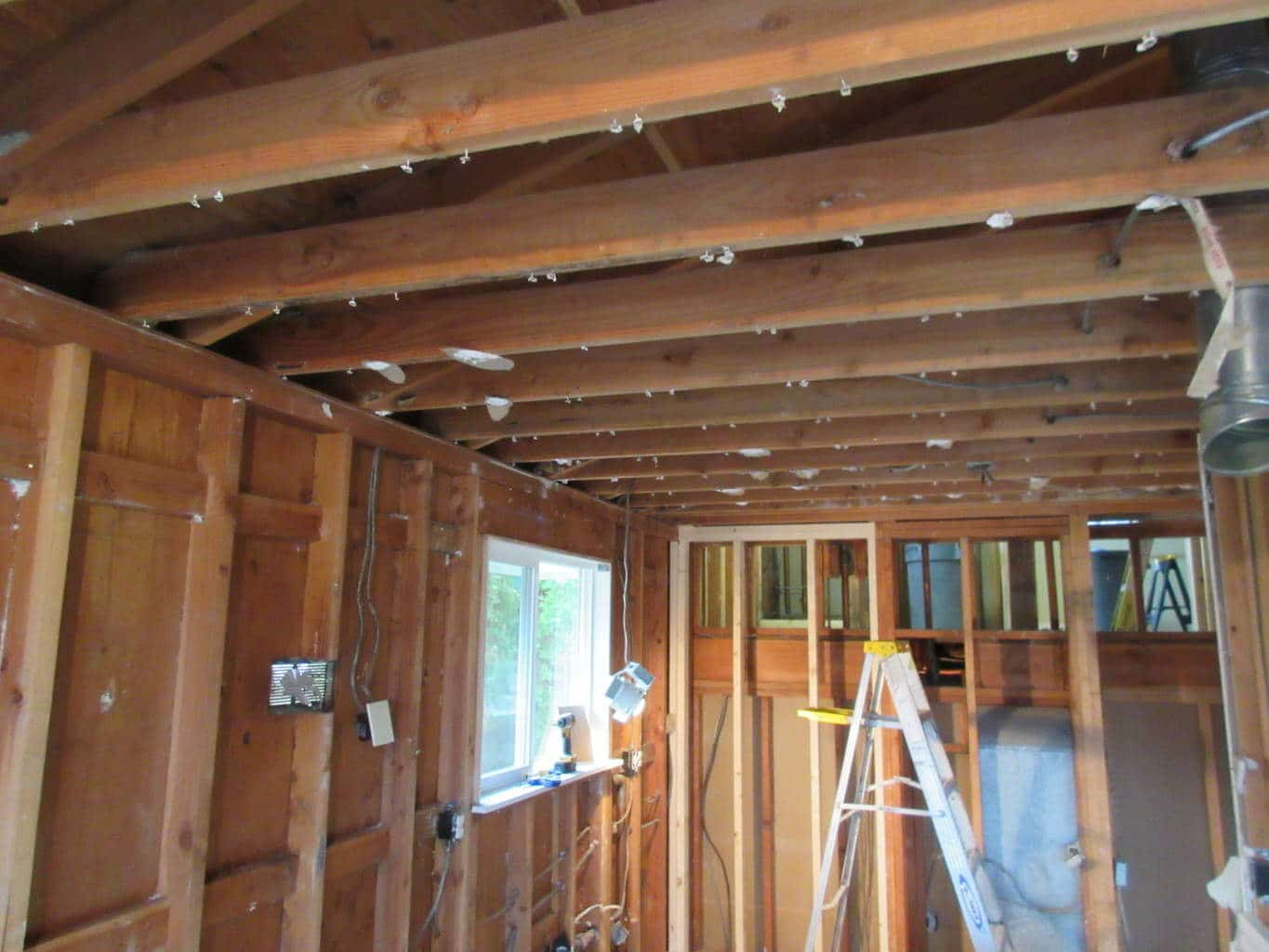 replacement of trusses with beams
