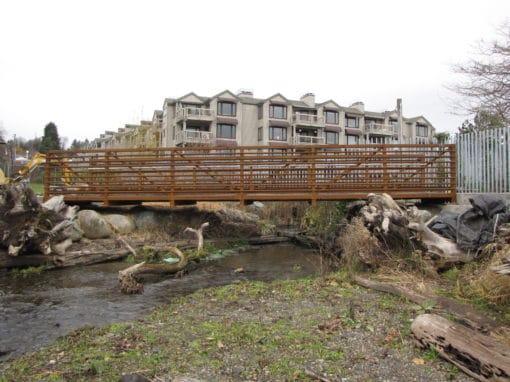 Log Boom Park Pedestrian Bridge