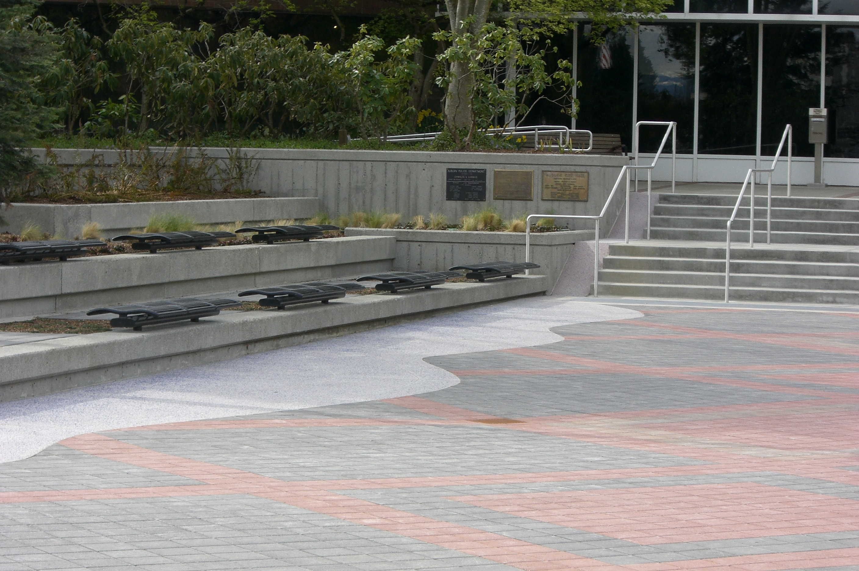 engineering for city hall plaza