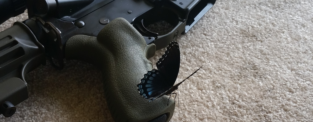 ArmsVault Network - AR-15 with Butterfly