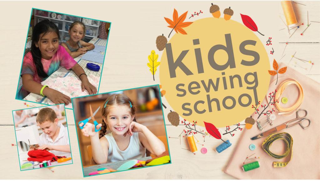Stitchology Kids Fall Sewing School