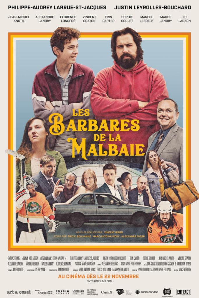LES BARBARES DE LA MALBAIE