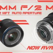 Venus Optics announces the automatic aperture version of 7.5mm f/2 MFT