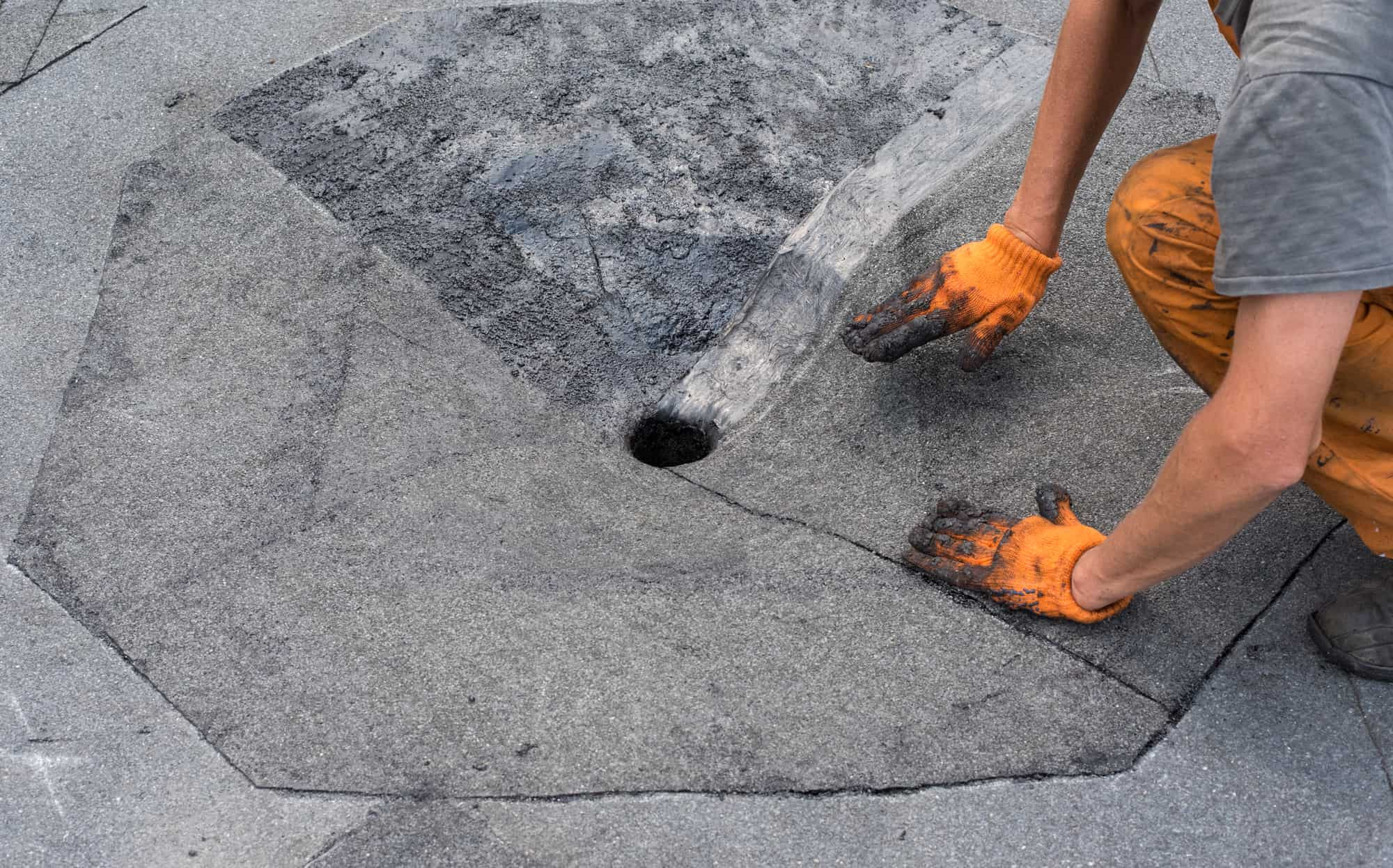 Roof repair commercial