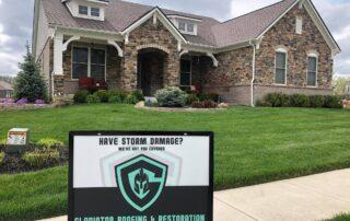 Gladiator signage after