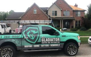 Gladiator roofing and restoration project