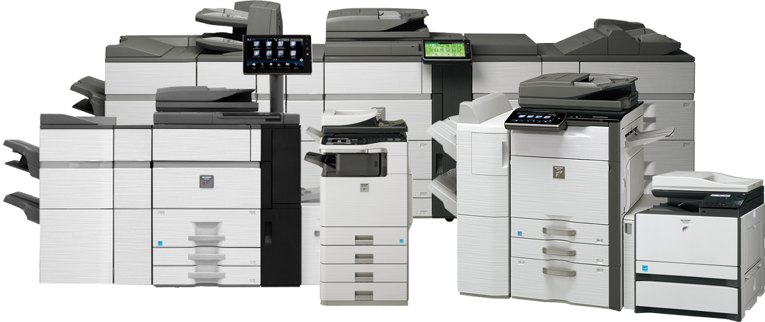 BLACK & WHITE COPIERS & MFP