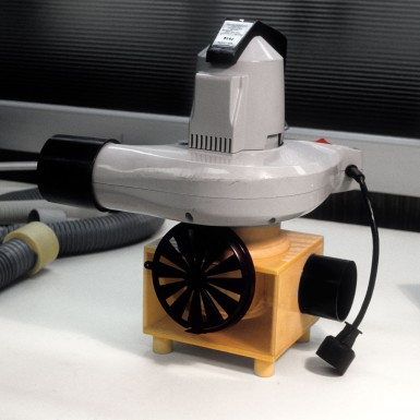 Craftsman vacuum leaf blower developed in part by Art of Mass Production, a San Diego based plastics engineering company