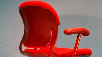 Office furniture developed in part by Art of Mass Production, a San Diego based plastics engineering company