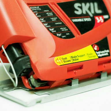 Skil hand saw engineered in part by Art of Mass Production, a San Diego based plastics engineering company