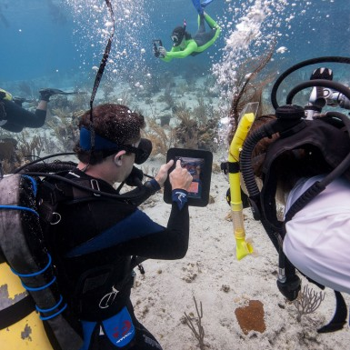 iDive iPad dive housing engineered in part by Art of Mass Production, as plastics engineering company
