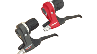 Grip Shift bicycle gear shifter developed in part by Art of Mass Production, a San Diego based plastics engineering company