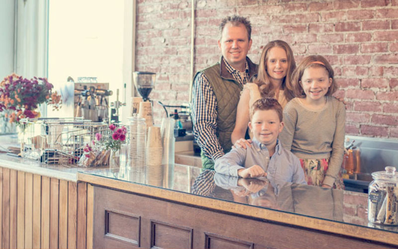 Heather & Justin Slack, The Post & Office