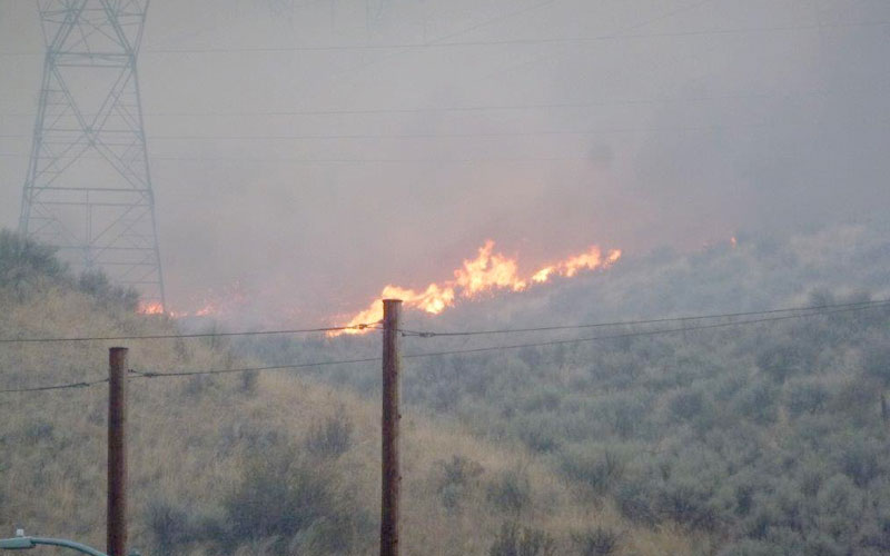 As Fires Ravage Eastern Washington, NoaNet and PUDs Keep Telecom Networks Operational