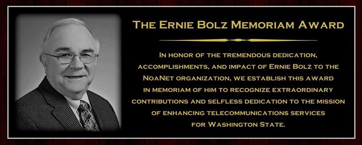 Ernie Bolz Memoriam Award