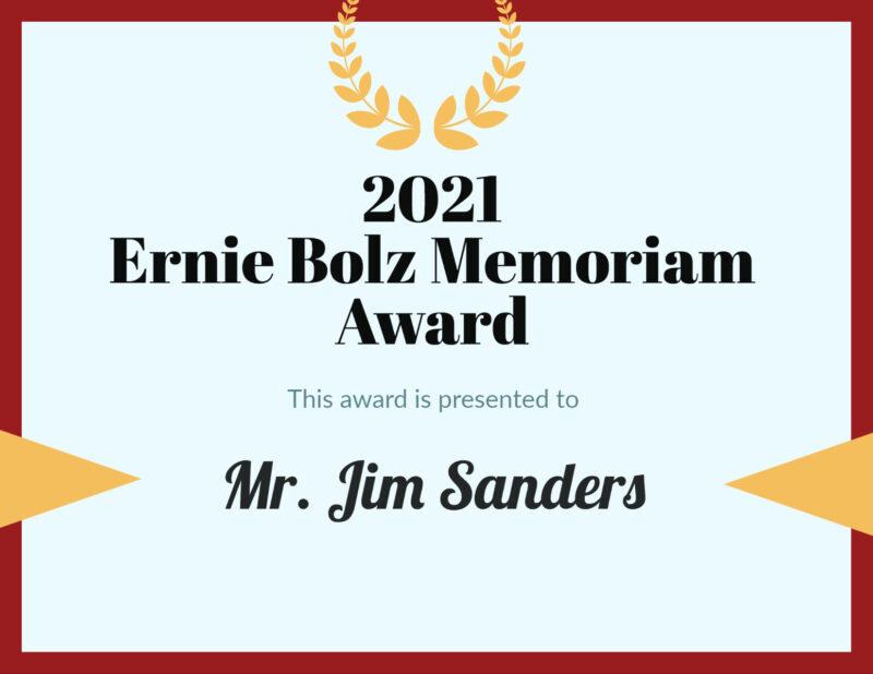 Ernie Bolz Award
