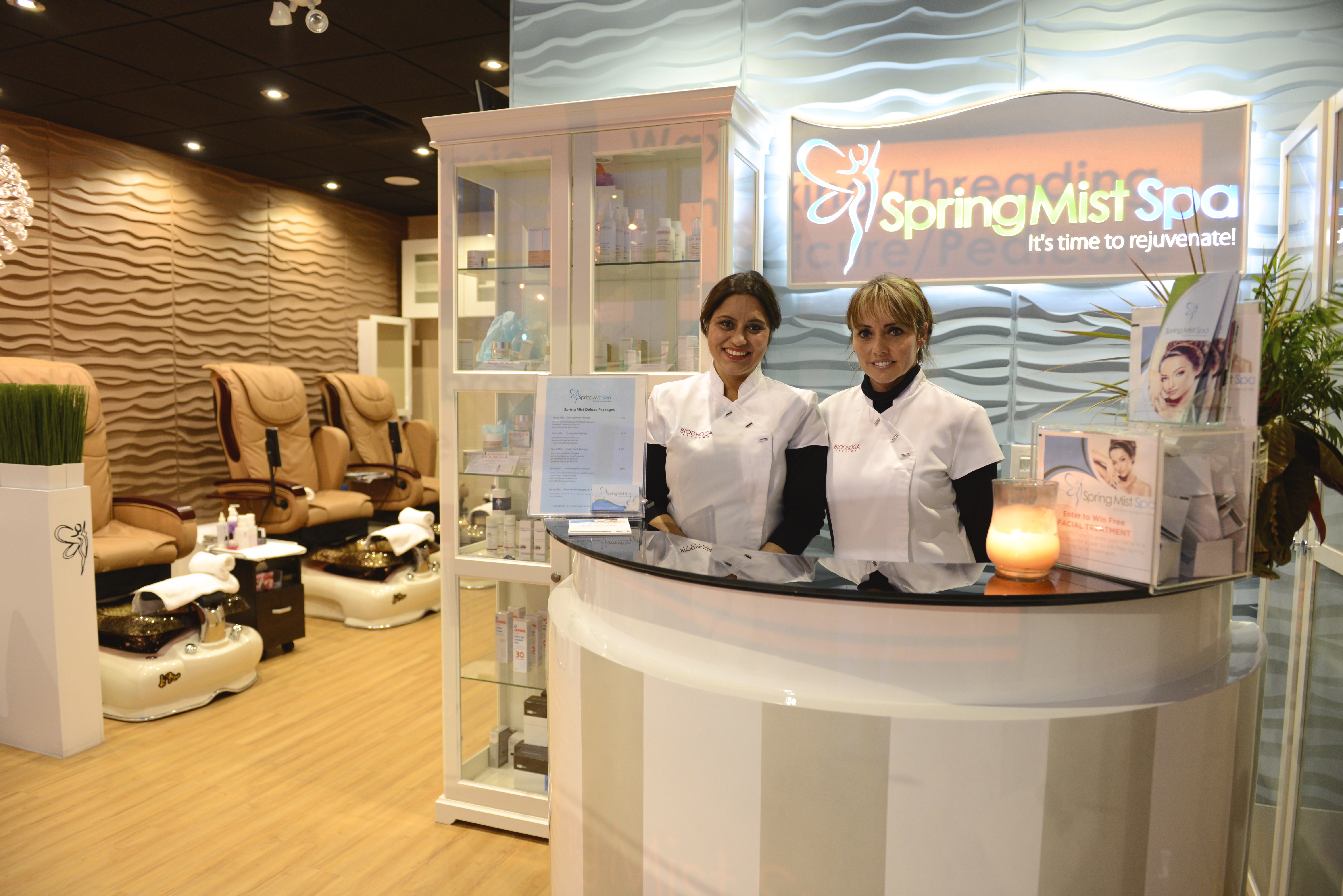 Spring Mist Spa's Sarah & Iwona (Certified Medical Aesthetician)