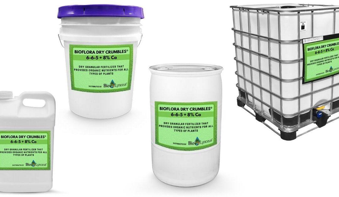 BioFlora Dry Crumbles® 6-6-5 + 8% Ca