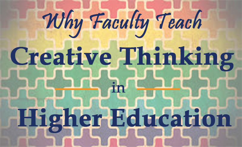 creative thinking in higher education