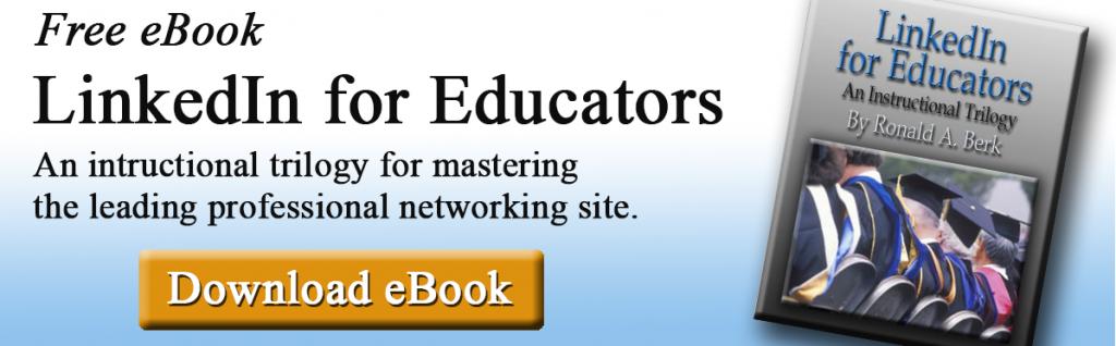 linkedin for educators ebook