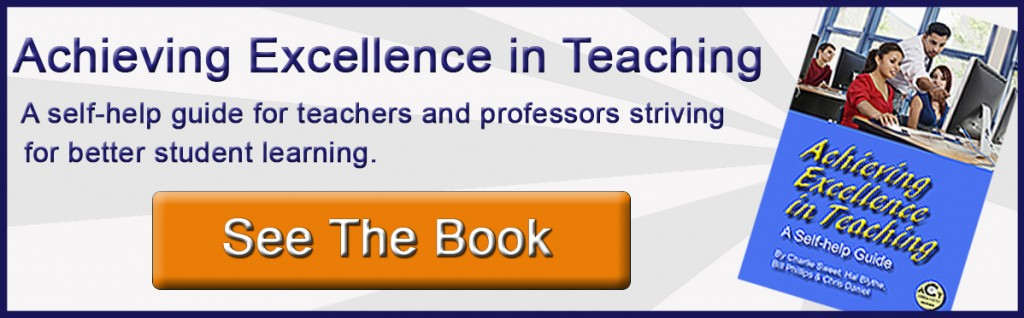 Achieving Excellence in Teaching book