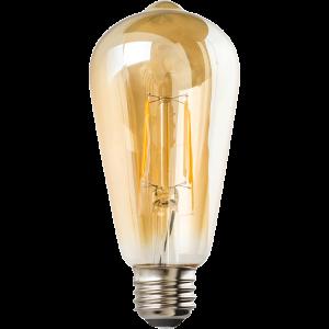 IllumiSci ST21 Edison LED Filament Light Bulb