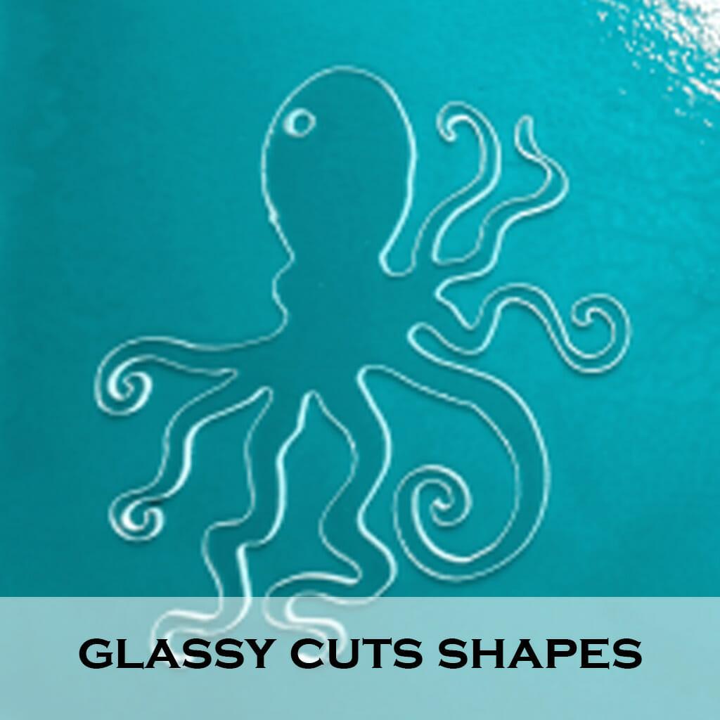 Glassy Cuts Shapes