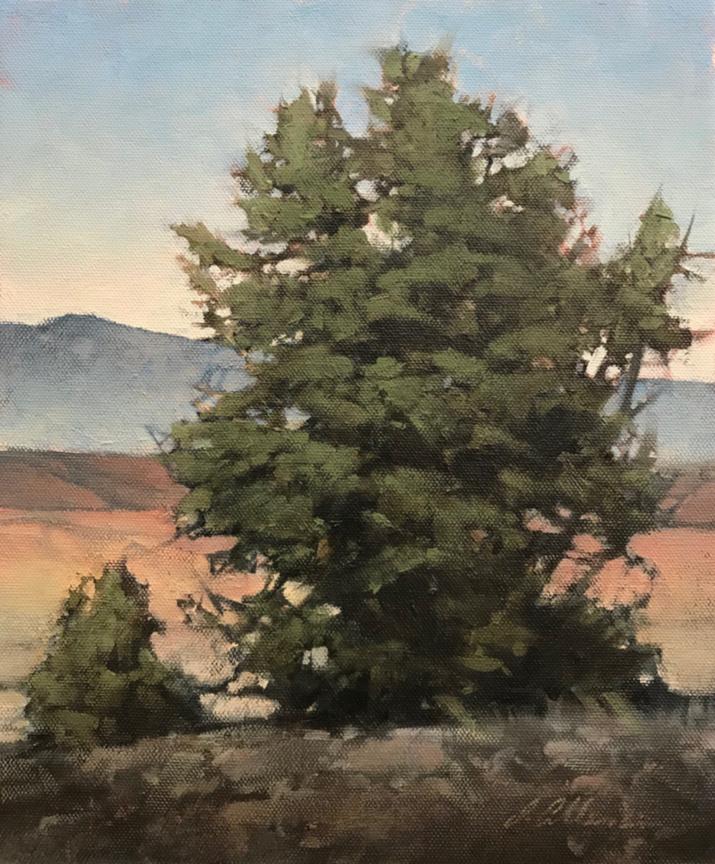 Montgomery-Lee Fine Art | Hilltop Green
