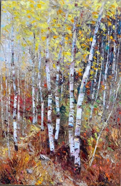 Montgomery-Lee Fine Art   Bright Canopy