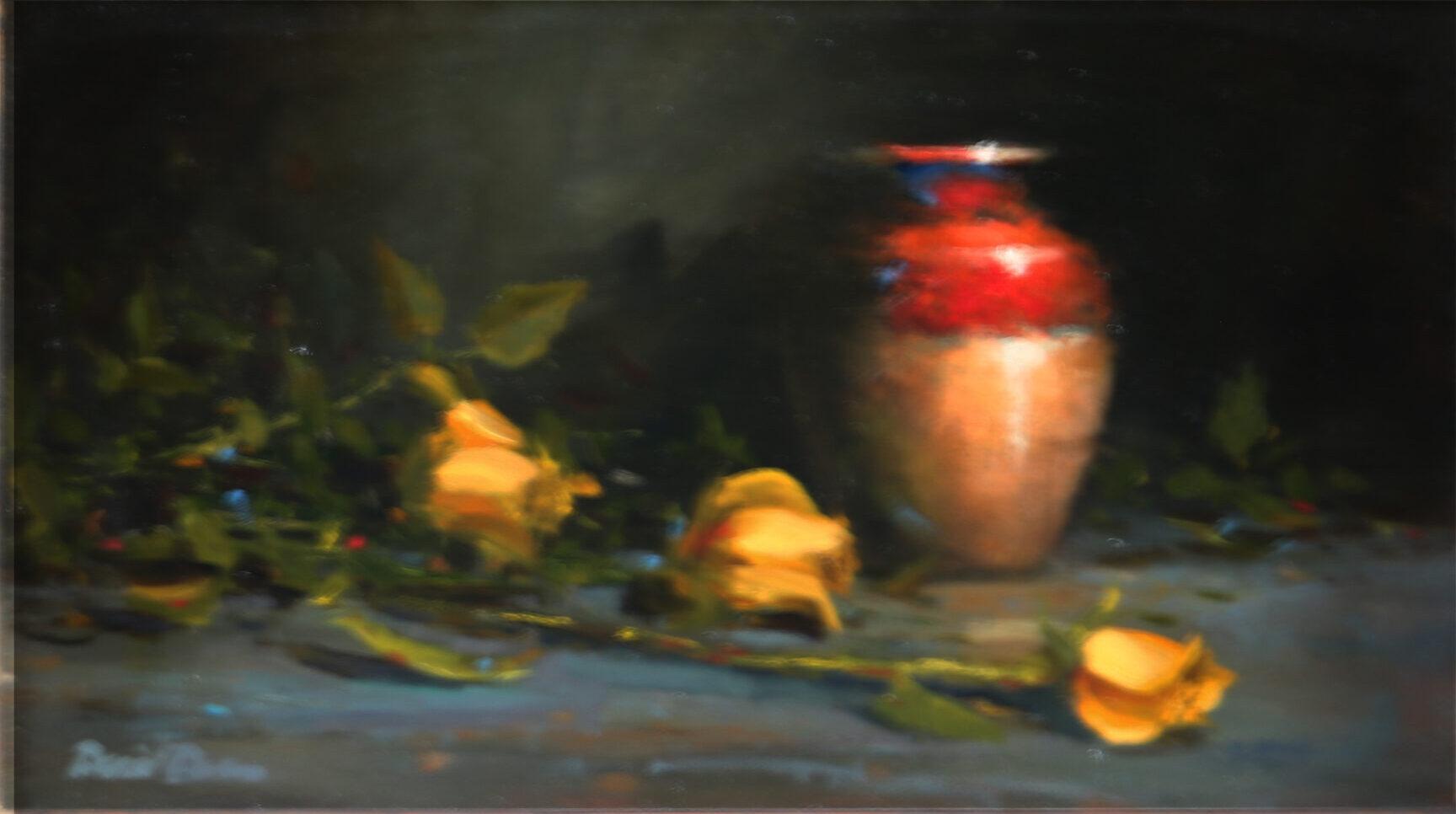 Montgomery-Lee Fine Art   Heirloom Roses