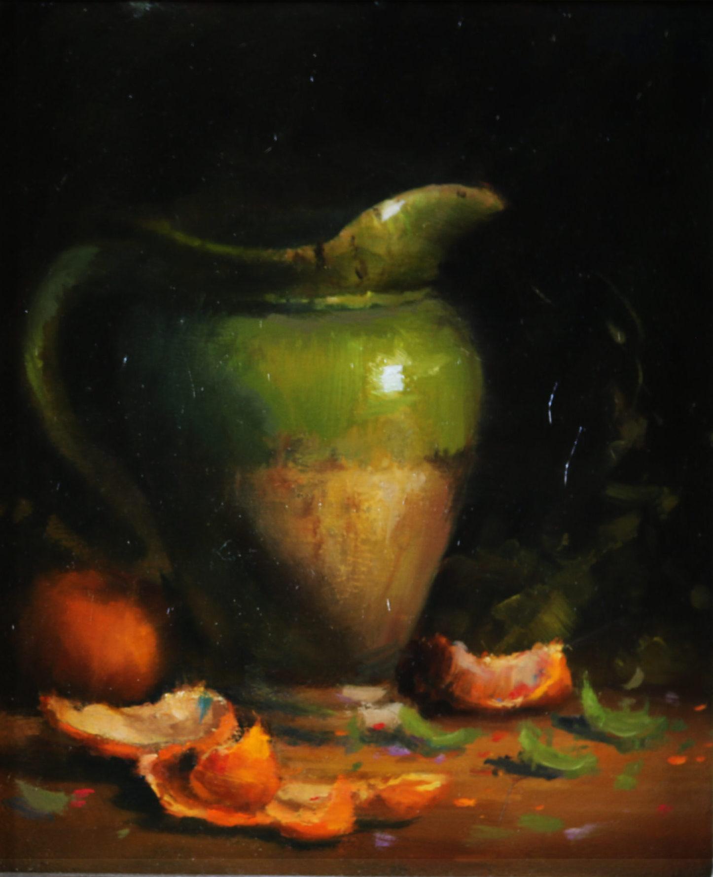 Montgomery-Lee Fine Art | Pottery Pitcher