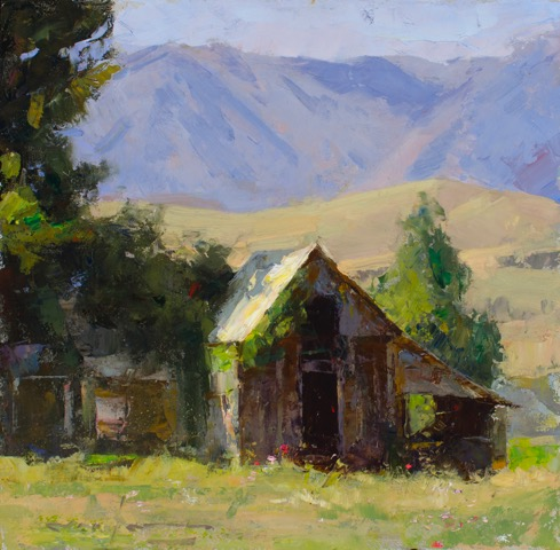Montgomery-Lee Fine Art   Paradise Barn