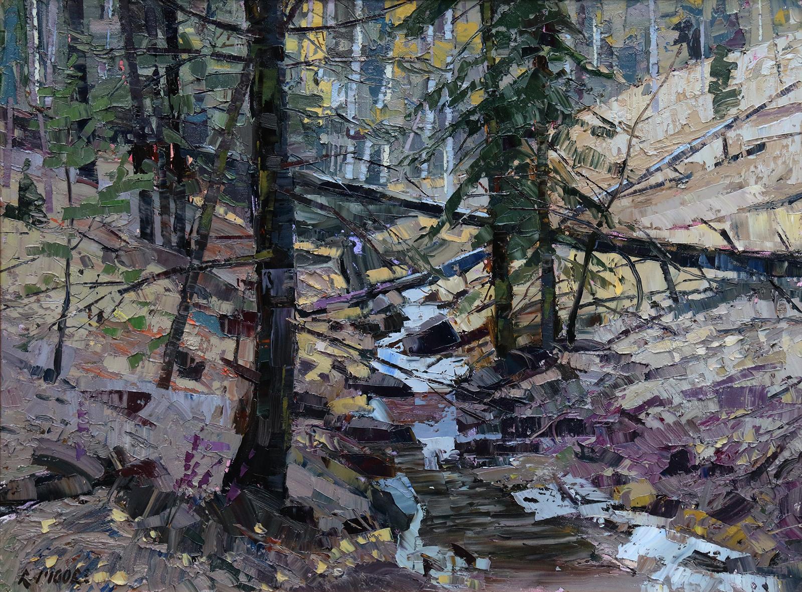 Montgomery-Lee Fine Art | Forest Interior