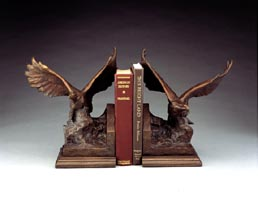 Montgomery-Lee Fine Art   Gilcrease Eagle Bookends