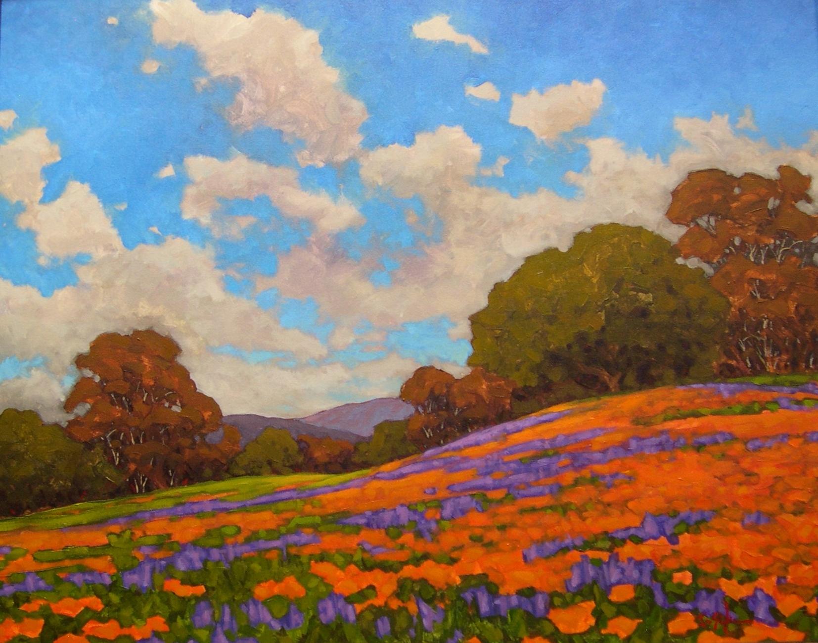 Montgomery-Lee Fine Art | Pleasant Poppies