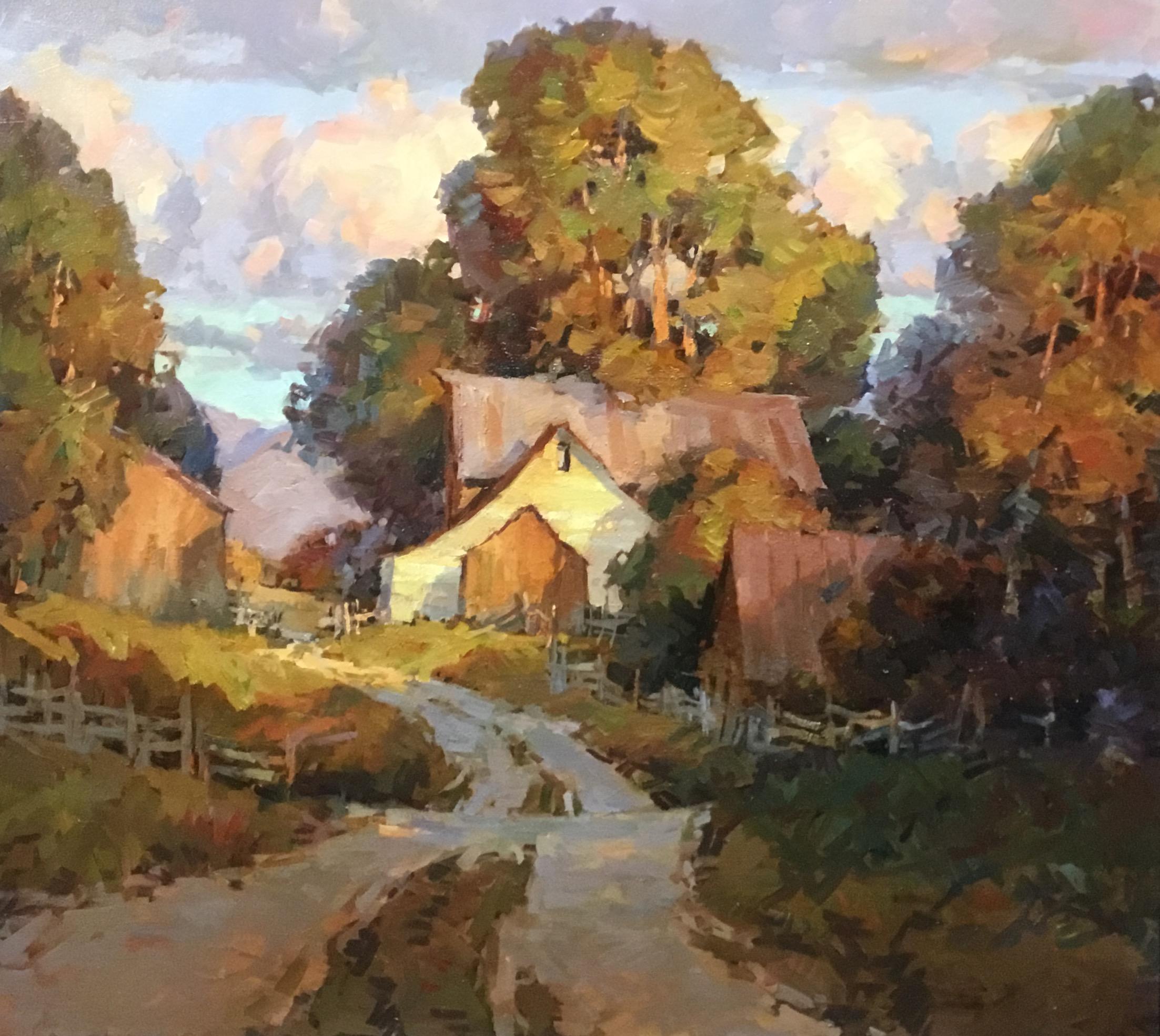 Montgomery-Lee Fine Art | Jared Sanders - Hansen Farm Road
