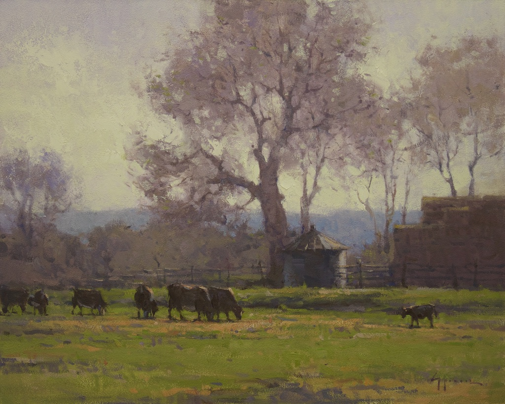 Montgomery-Lee Fine Art | April Morning in Idaho