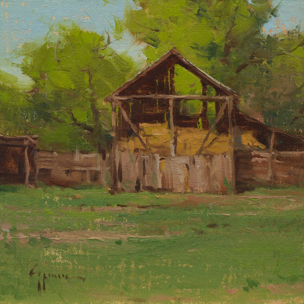 Montgomery-Lee Fine Art   The Hay Barn