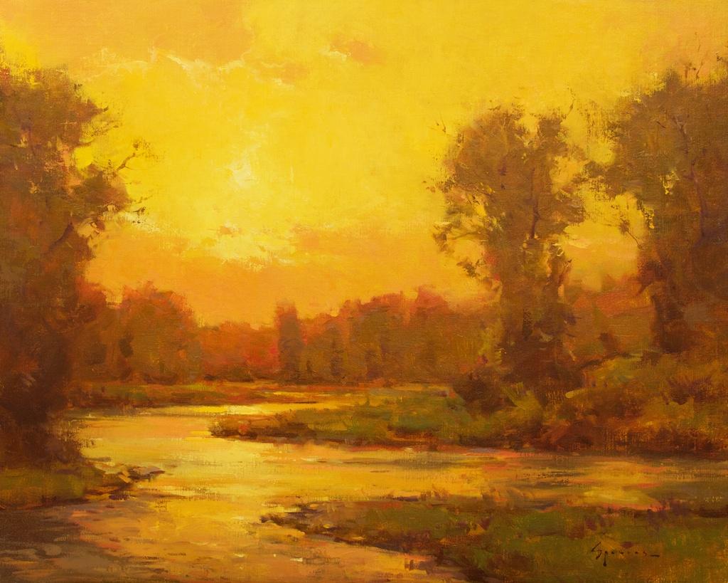 Montgomery-Lee Fine Art   Golden Dawn
