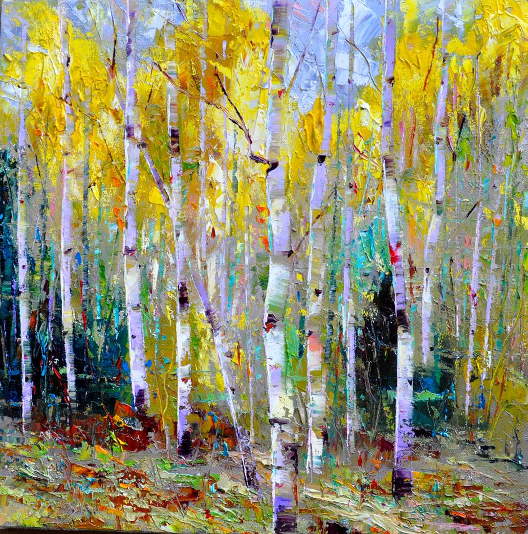 Montgomery-Lee Fine Art | Bright Fall Leaves
