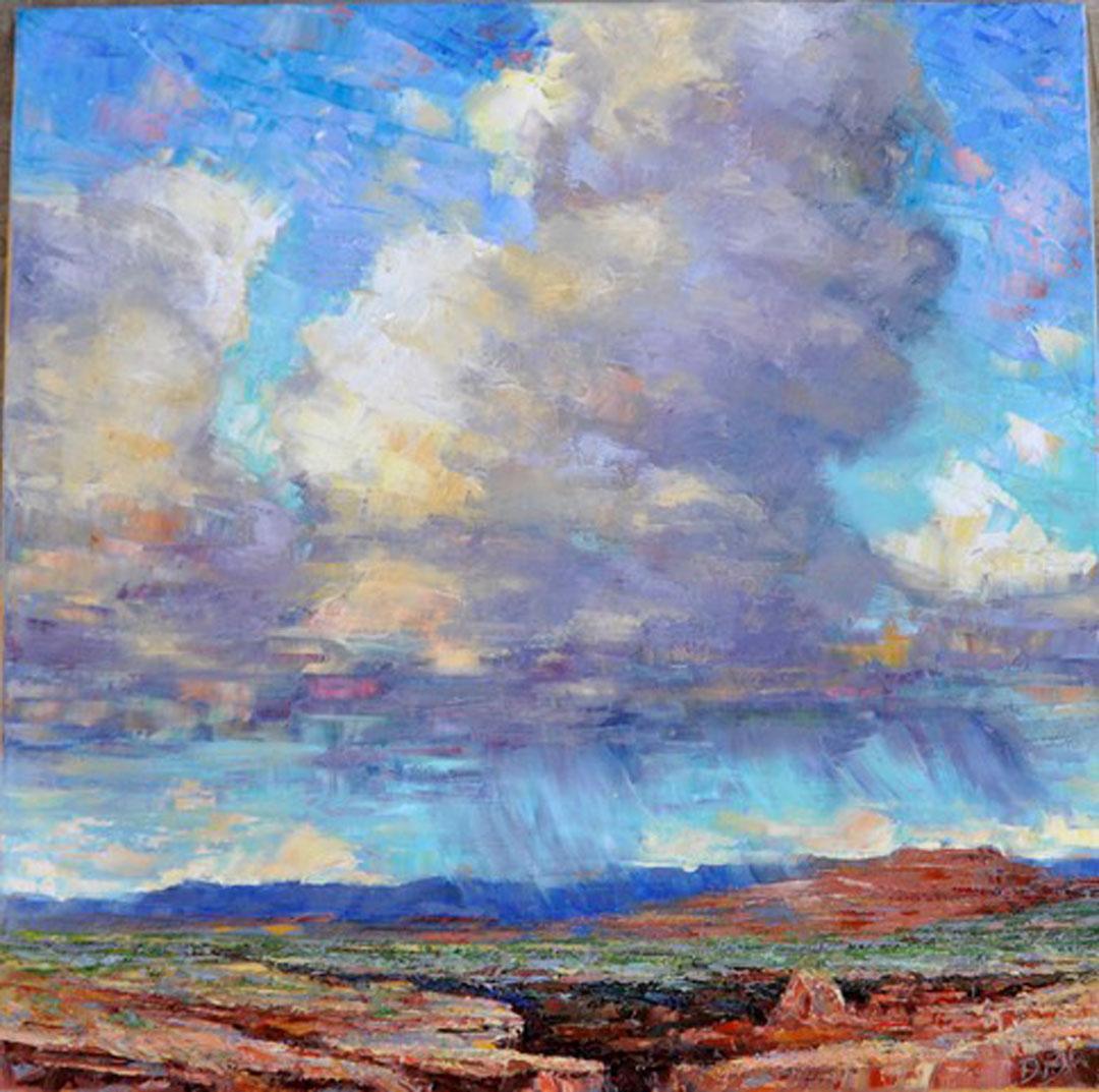 Montgomery-Lee Fine Art   Desert Vista