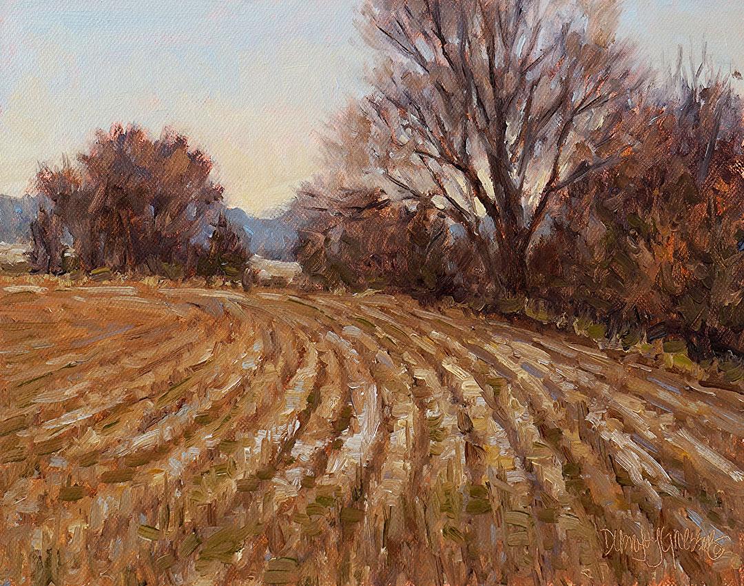 Montgomery-Lee Fine Art   Last of the Winters Snow